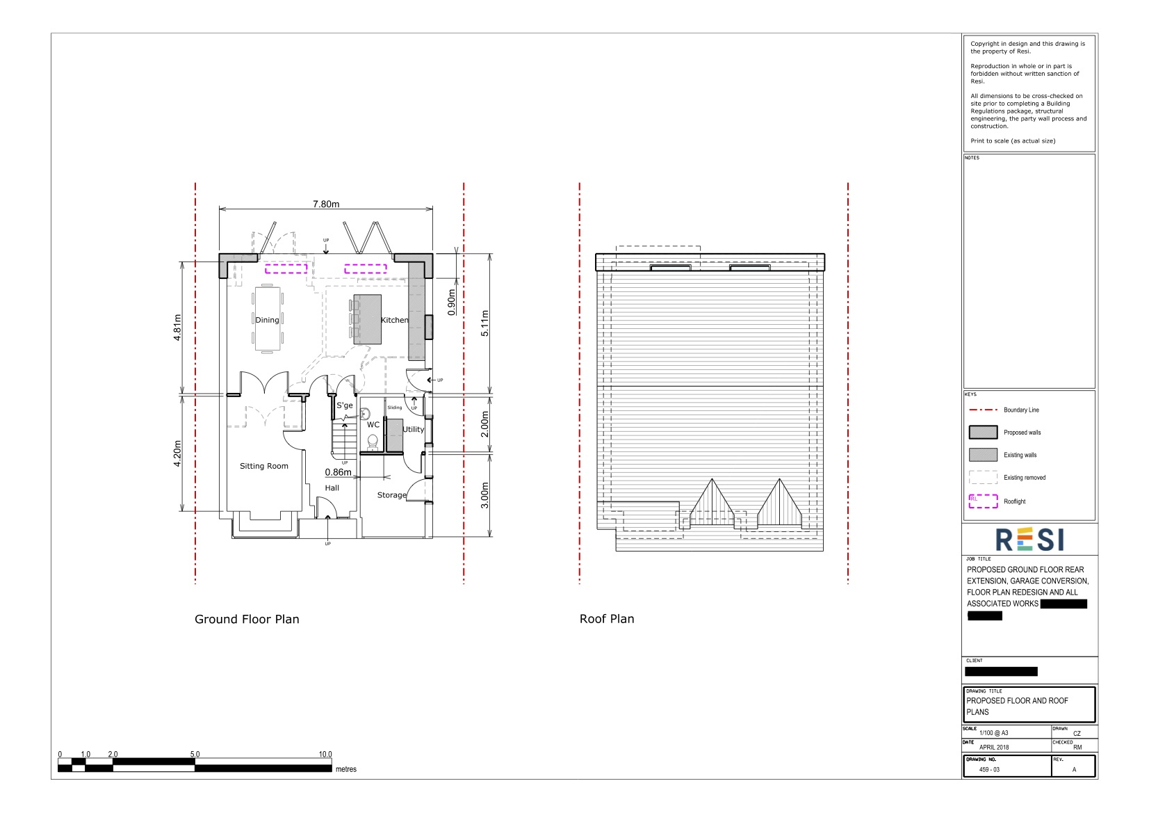 Architectural drawings rev b 4   ground floor plans