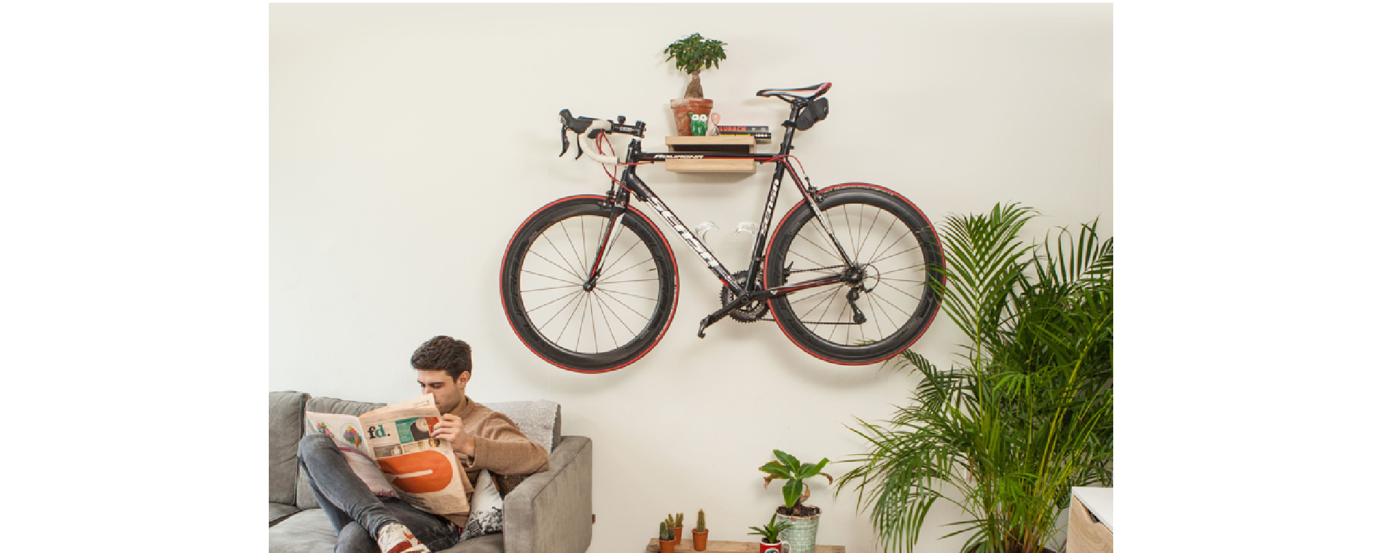 wall mounted bike