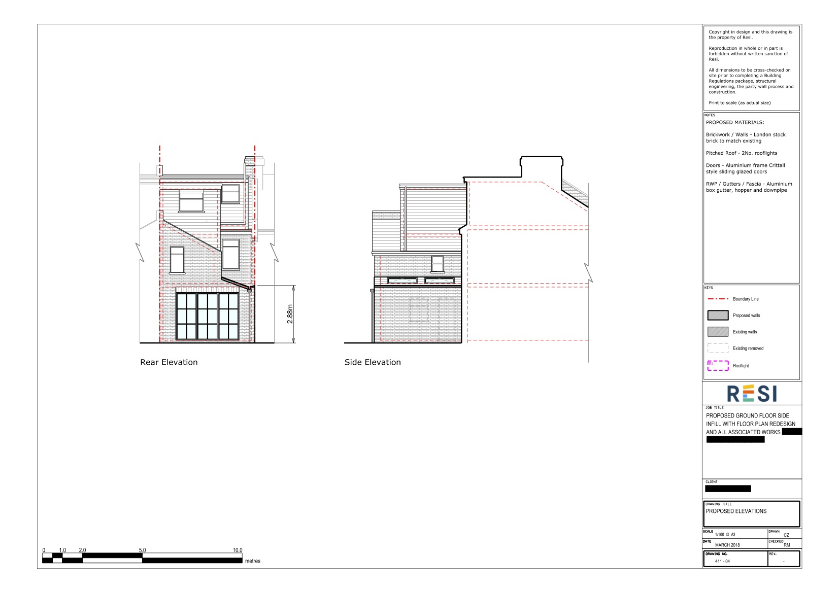 Architectural drawings 22   elevations