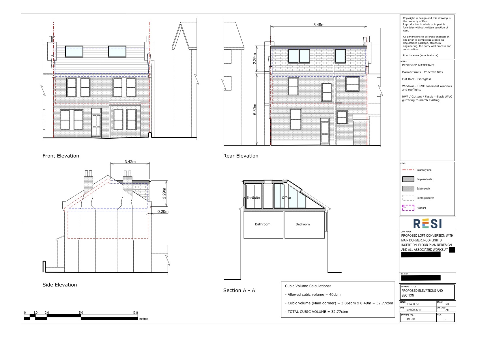 Architectural drawings   elevations