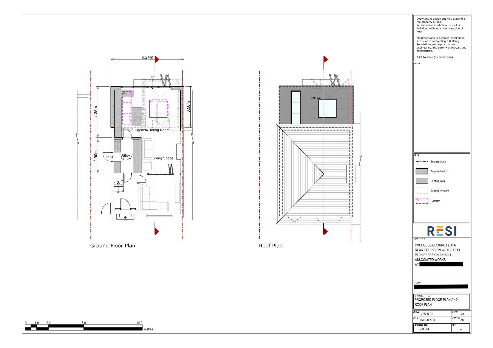 Architectural drawings set rev b   ground floor plans