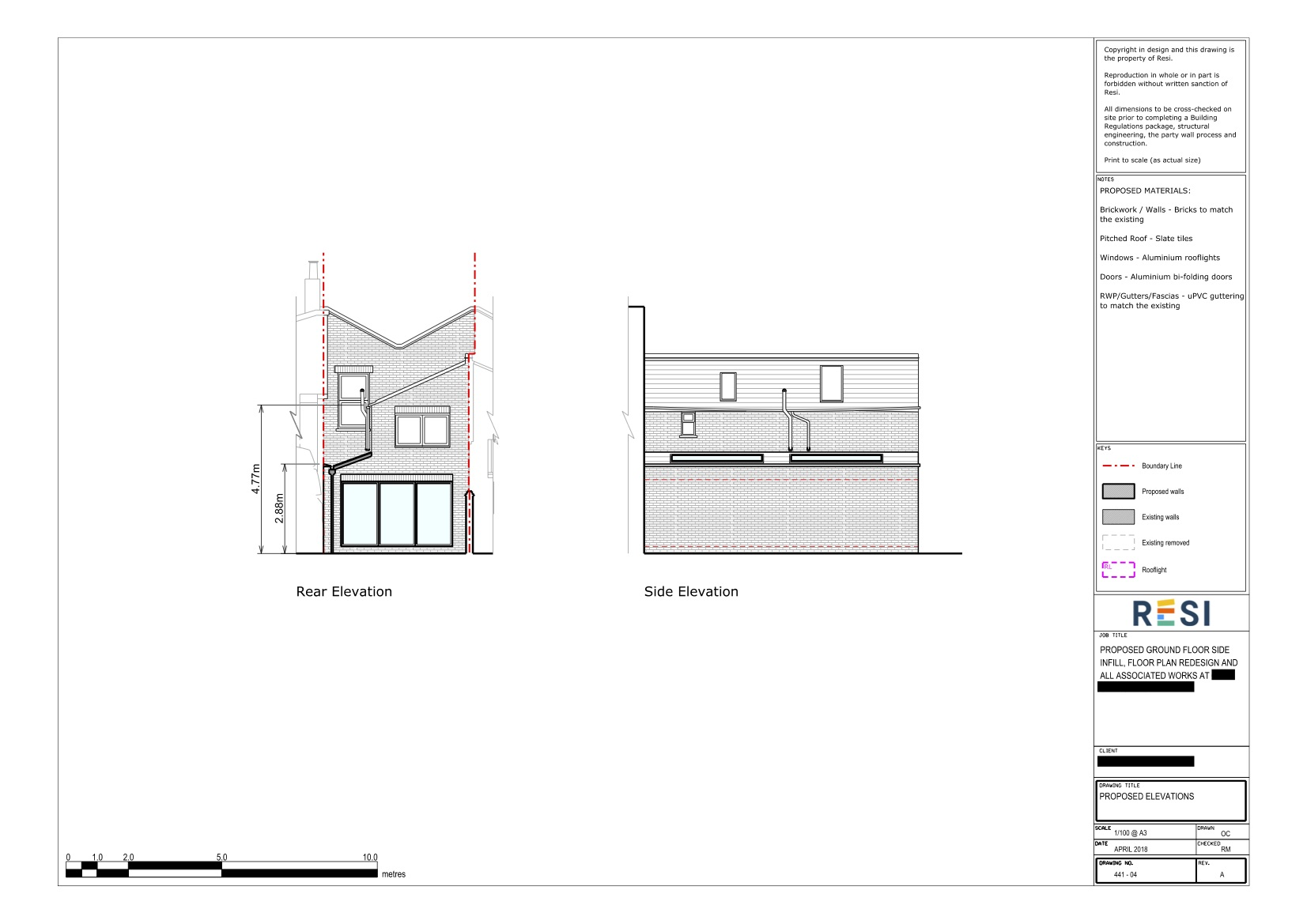 Architectural drawings rev b 2   elevations