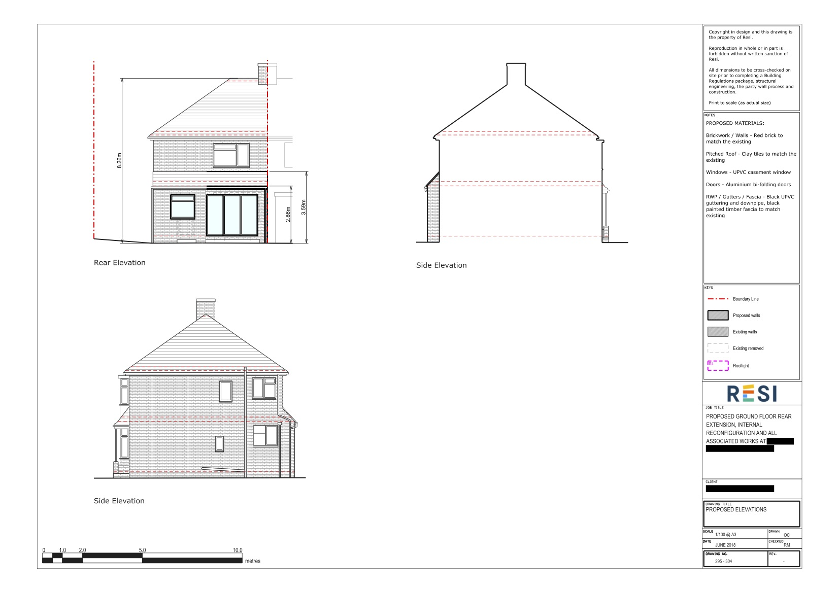 Gf architectural drawings 2 ground floor elevations