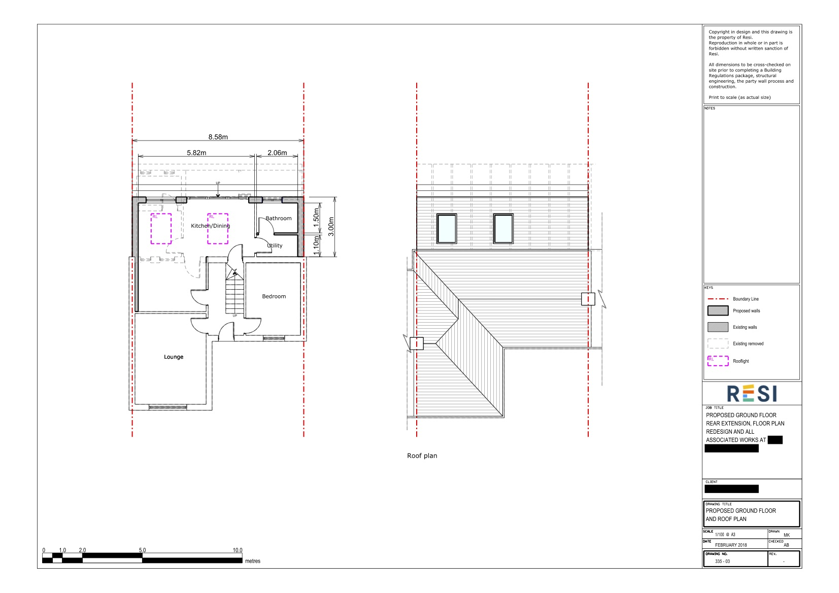 Architectural drawings set   floor plan