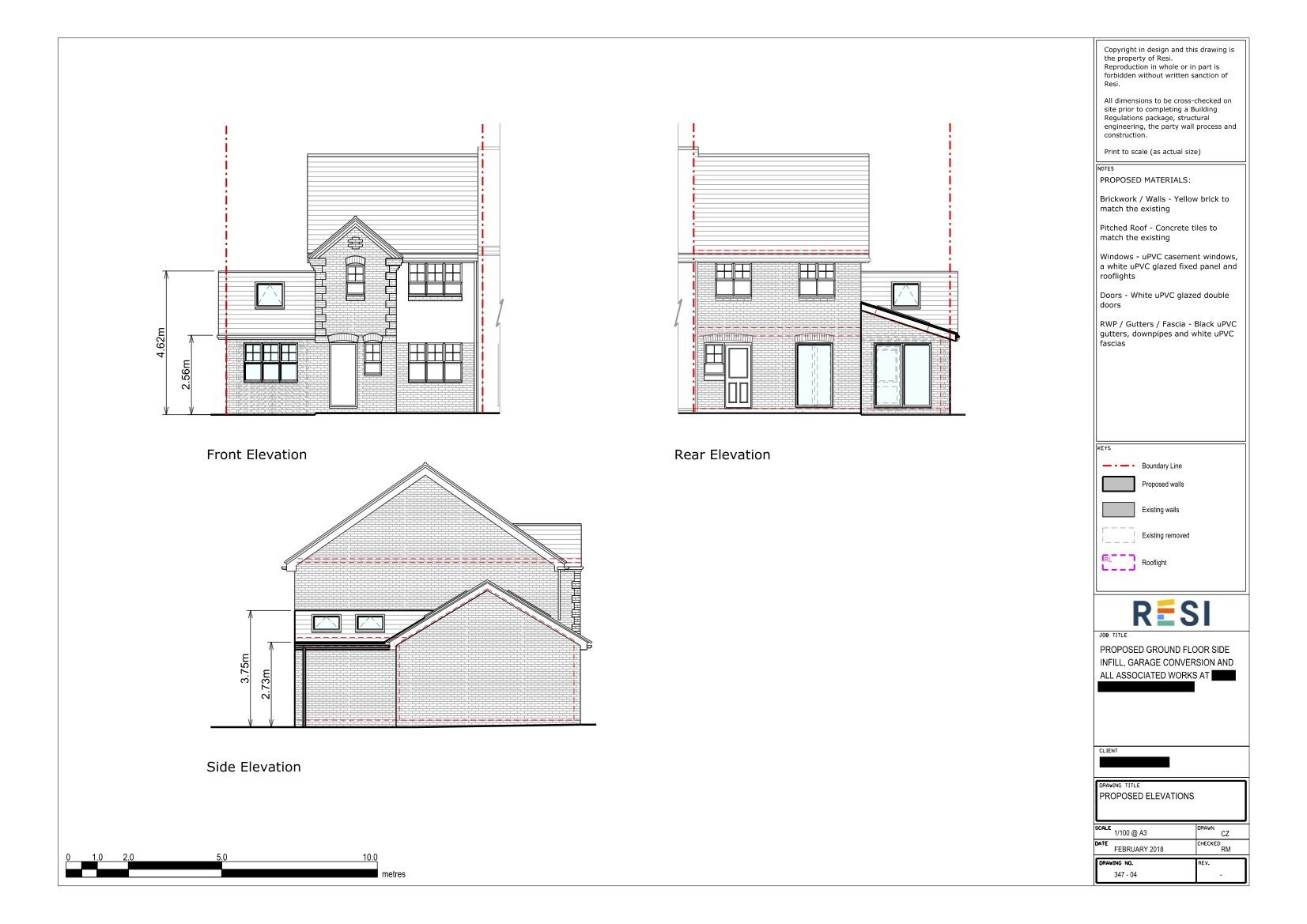 Architectural drawings 20   elevations