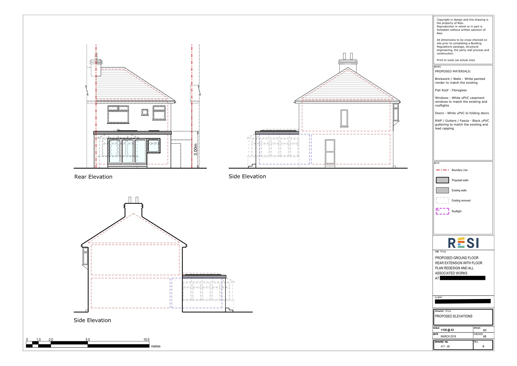 Architectural drawings set rev b   ground floor elevations