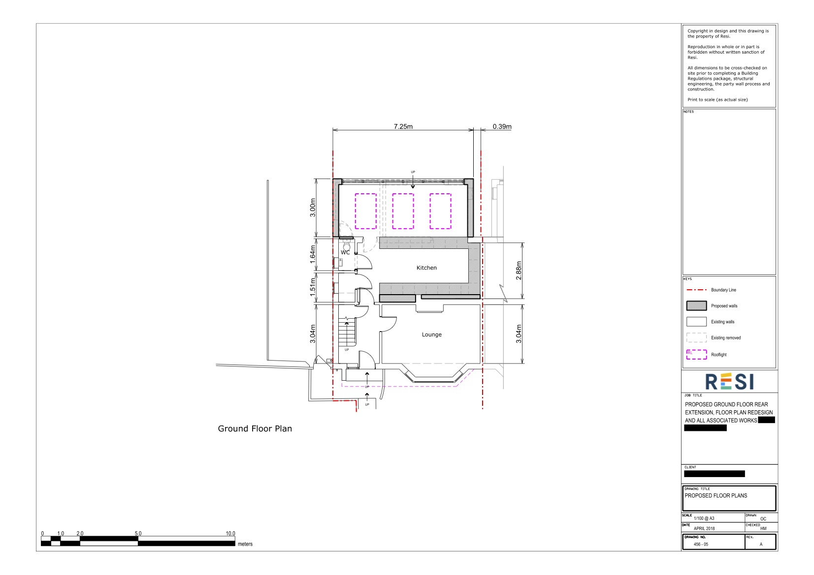 Architectural drawings rev a 10   ground floor plans