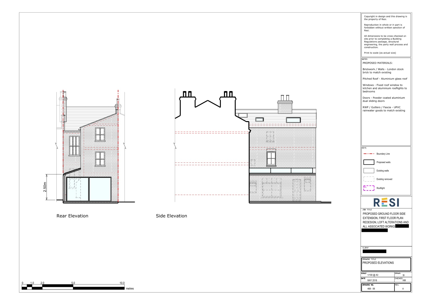 Architectural drawings rev a  elevations