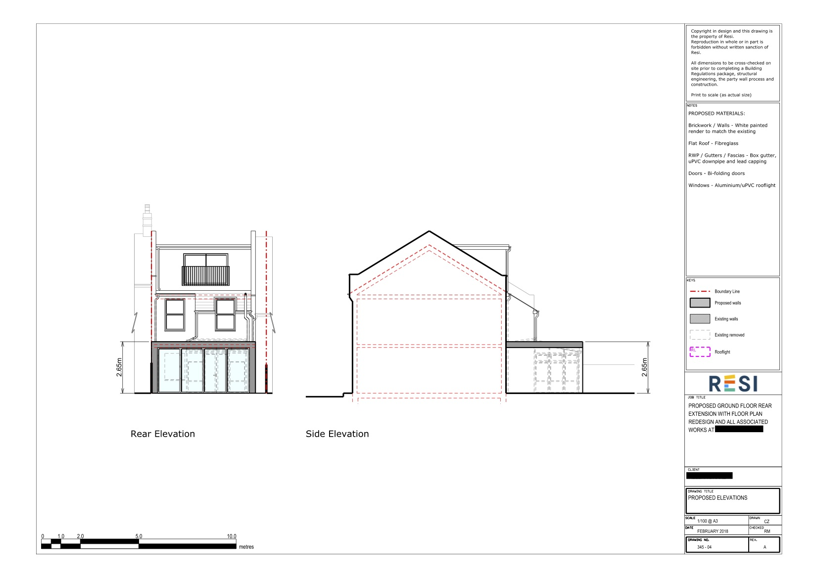 Architectural drawings rev a 8   elevations