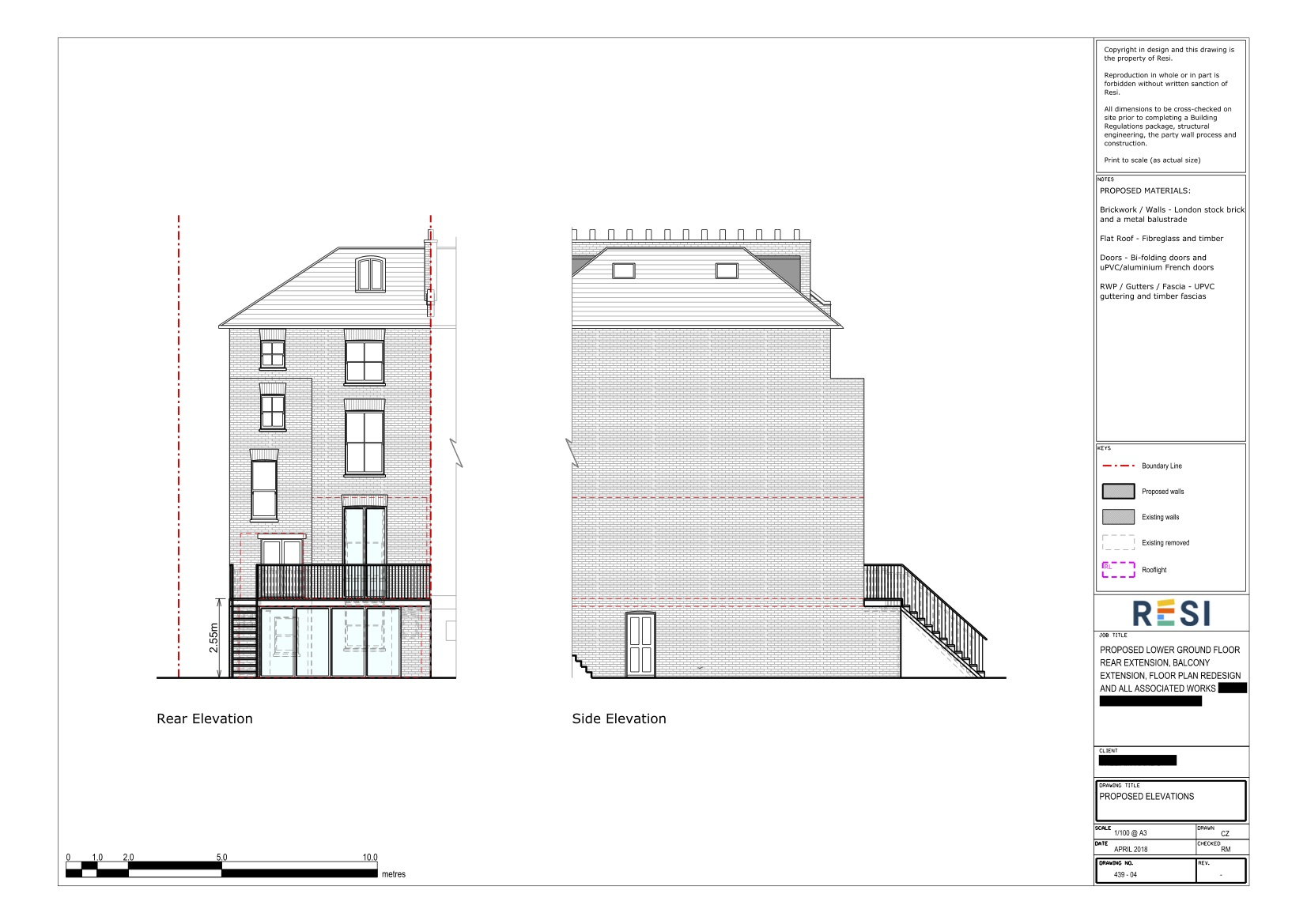 Architectural drawings 31   elevations