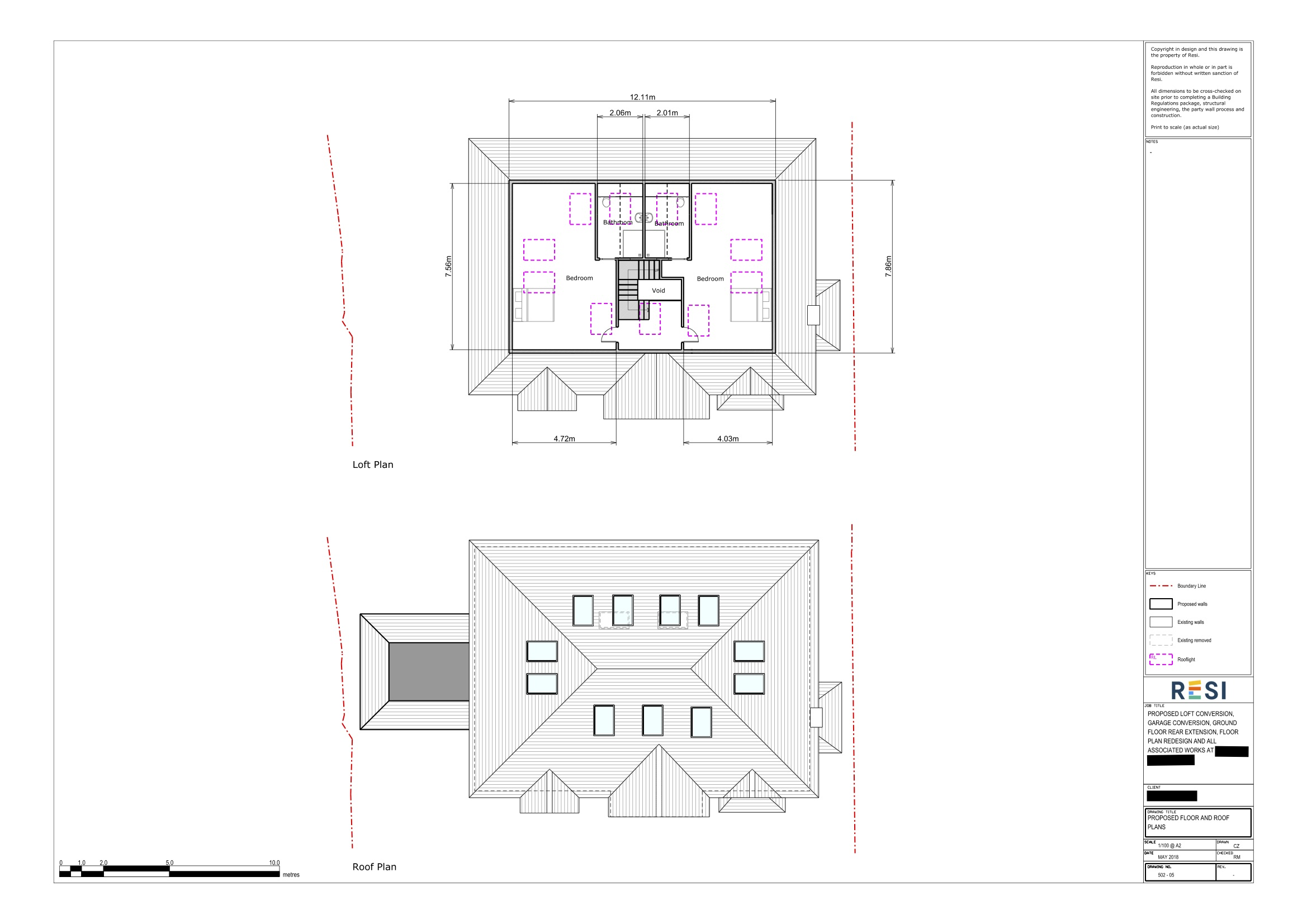 Architectural drawing package 2   loft floor plans