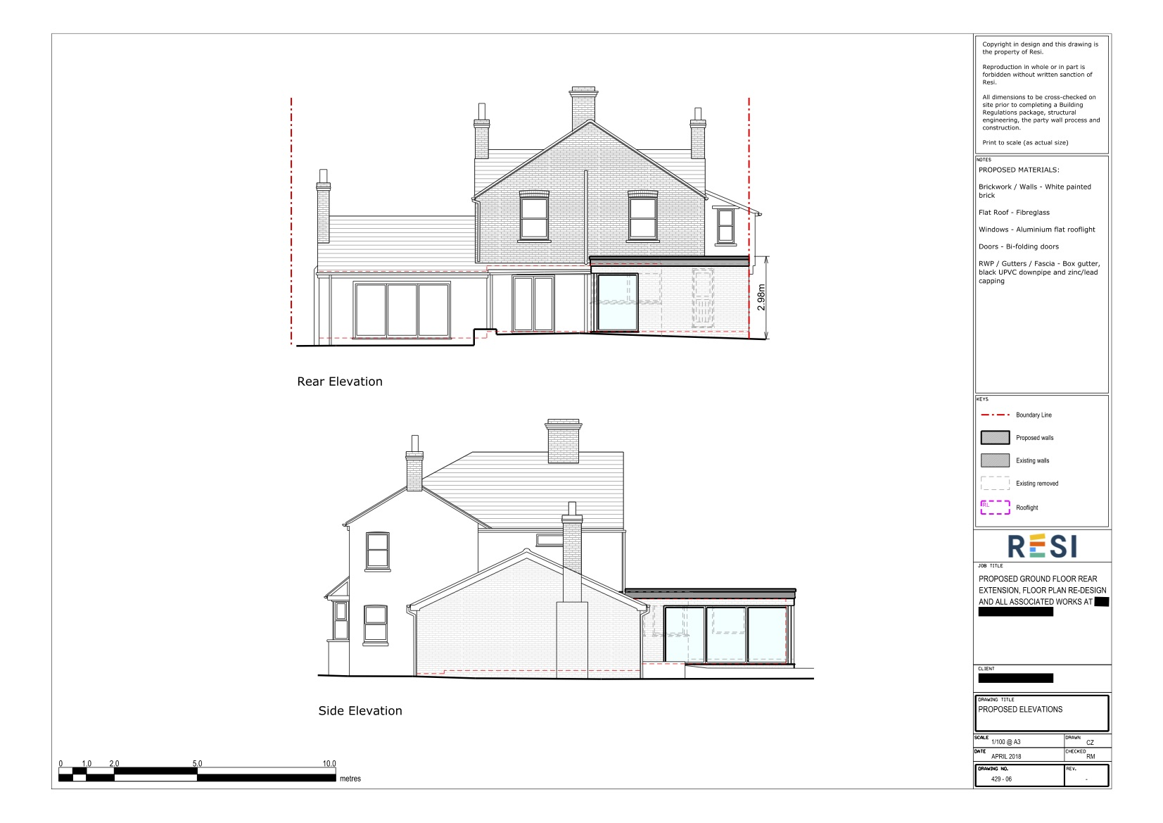 Architectural drawings 3   elevations