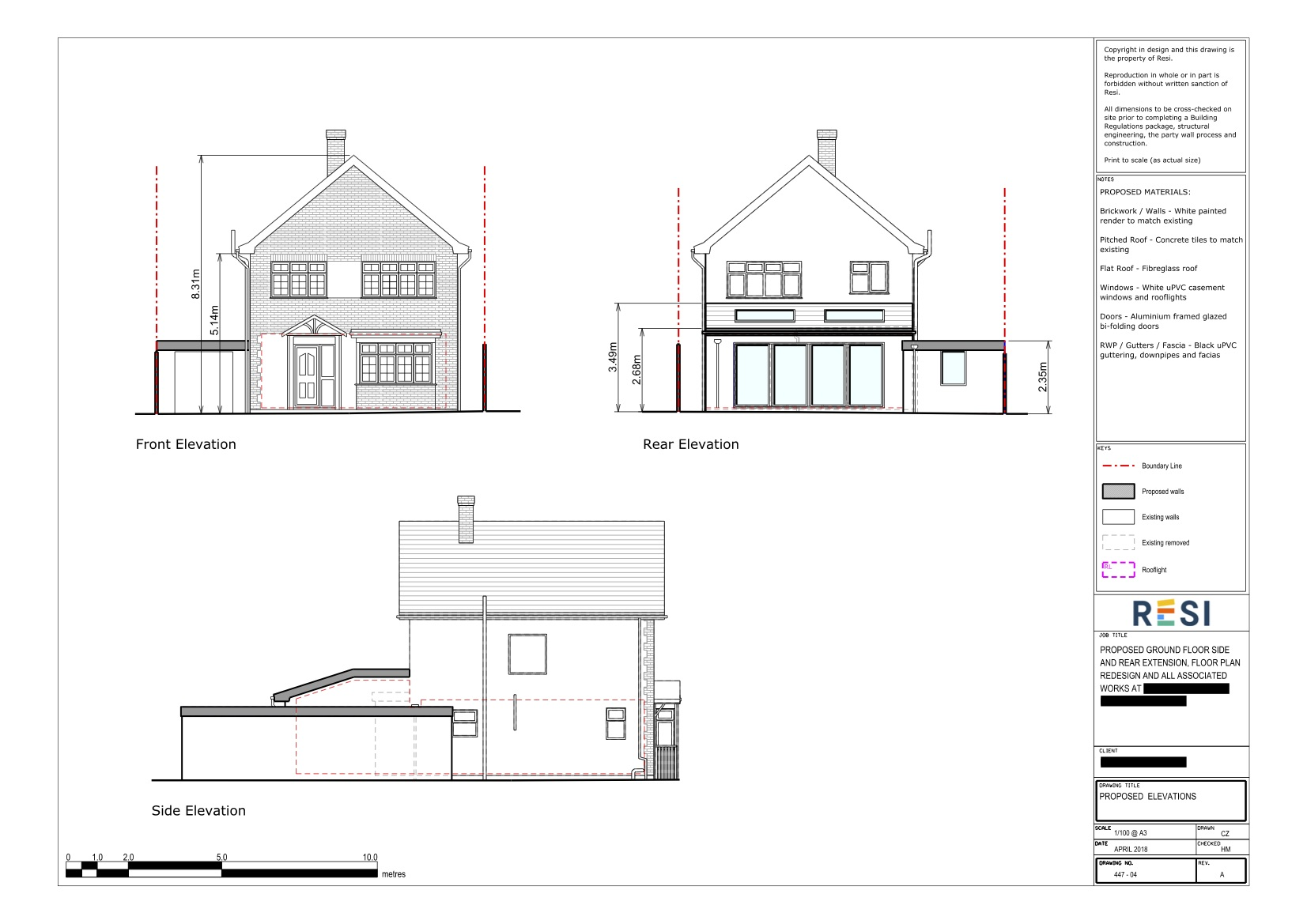 Architectural drawings rev a 4   elevations