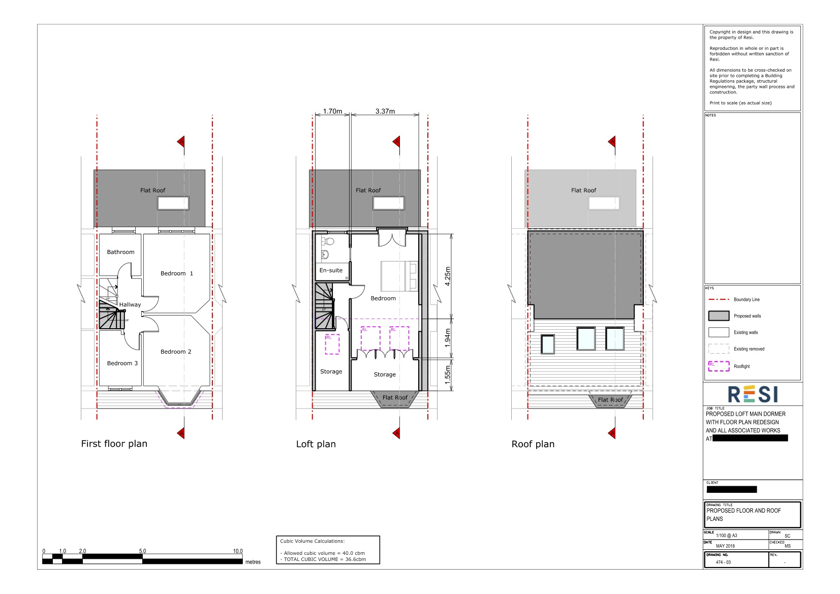 Architectural drawings 38   first floor and loft plans