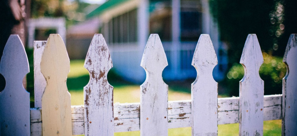 Canva - Picket Fences Fence Fencing Neighbor Neighbour