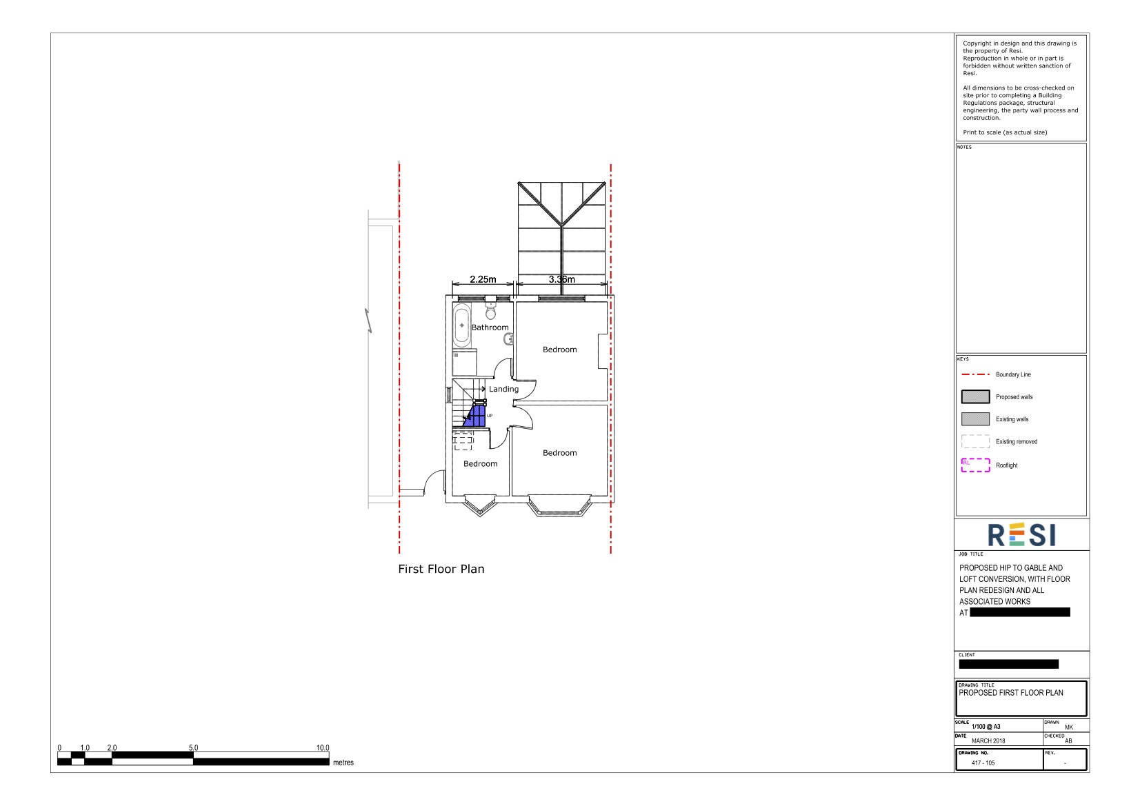 Architectural drawings set lc   first floor plans