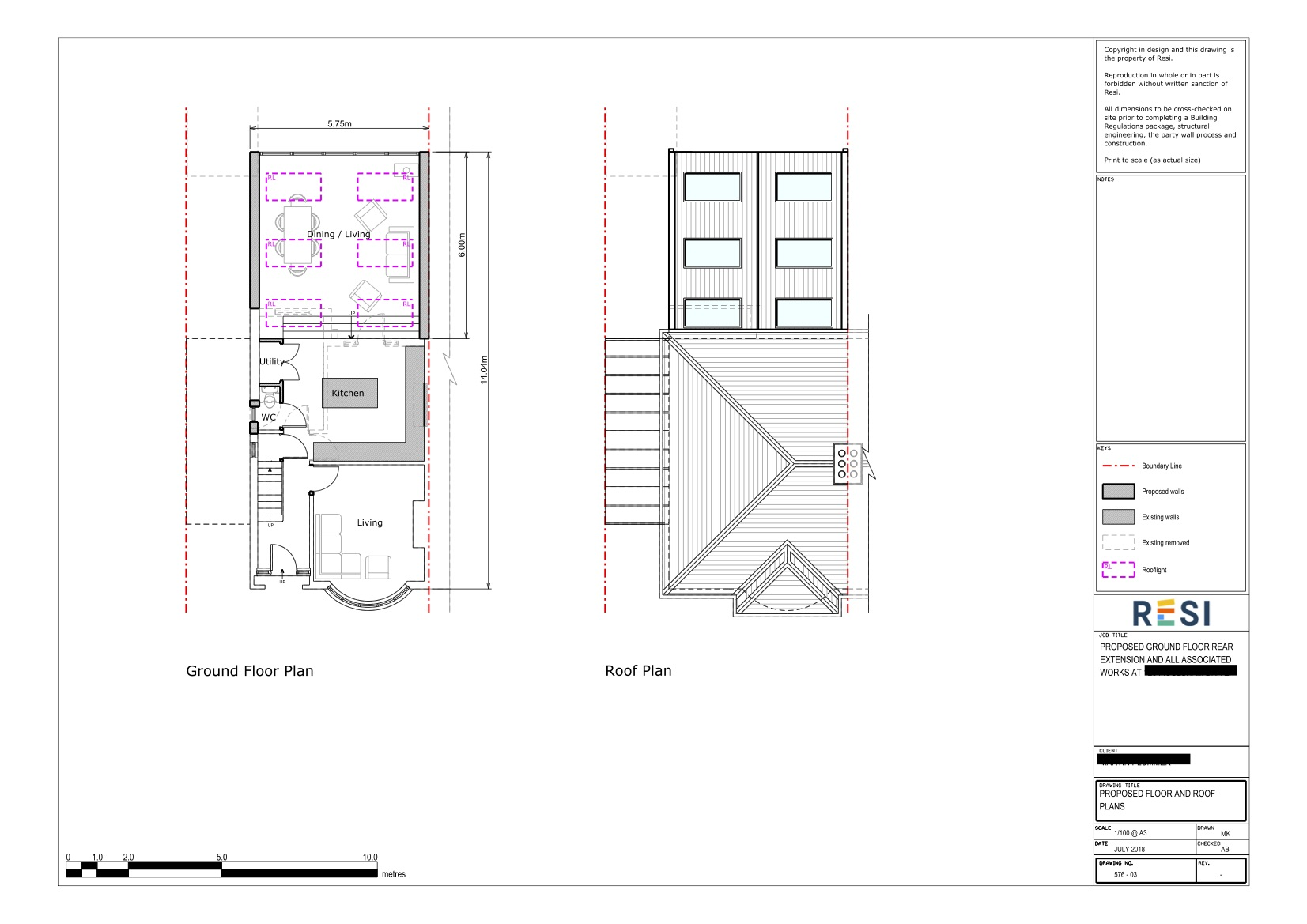 Architectural drawings 39   ground floor plans