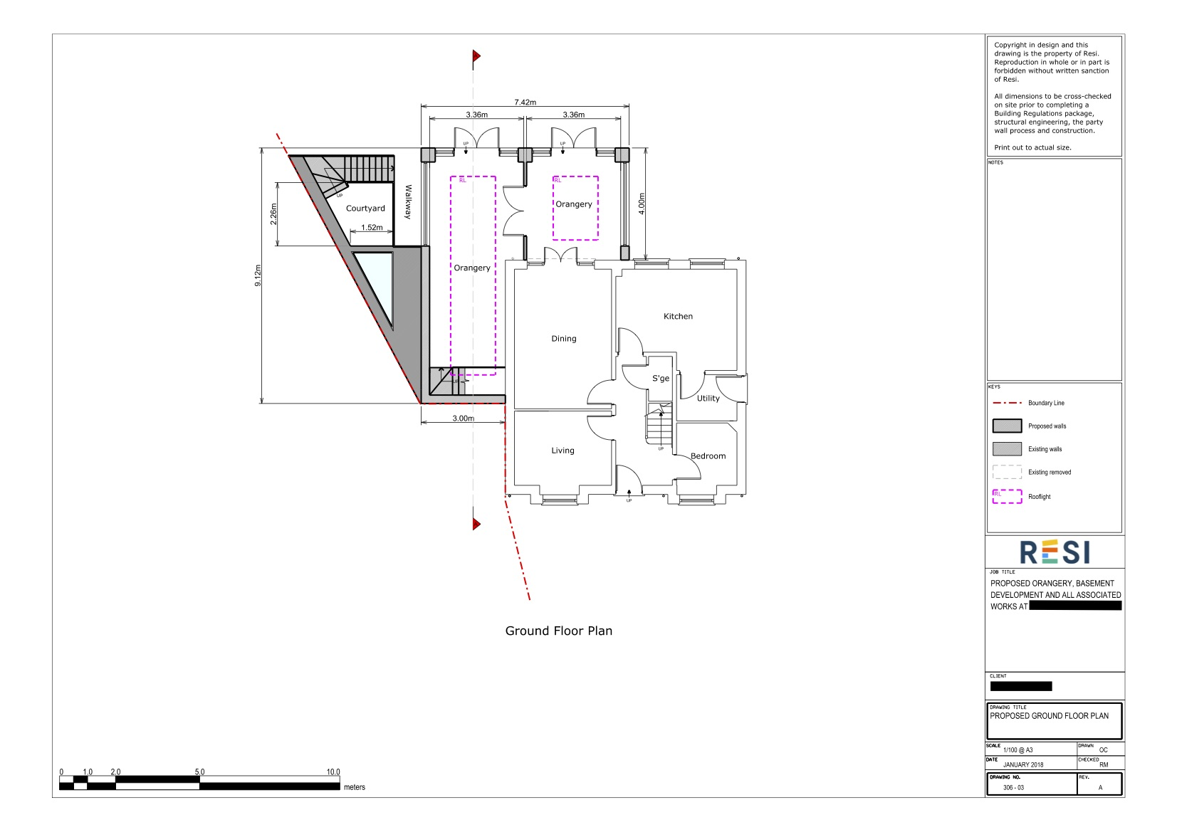 Architectural drawing package rev a  ground floor plan