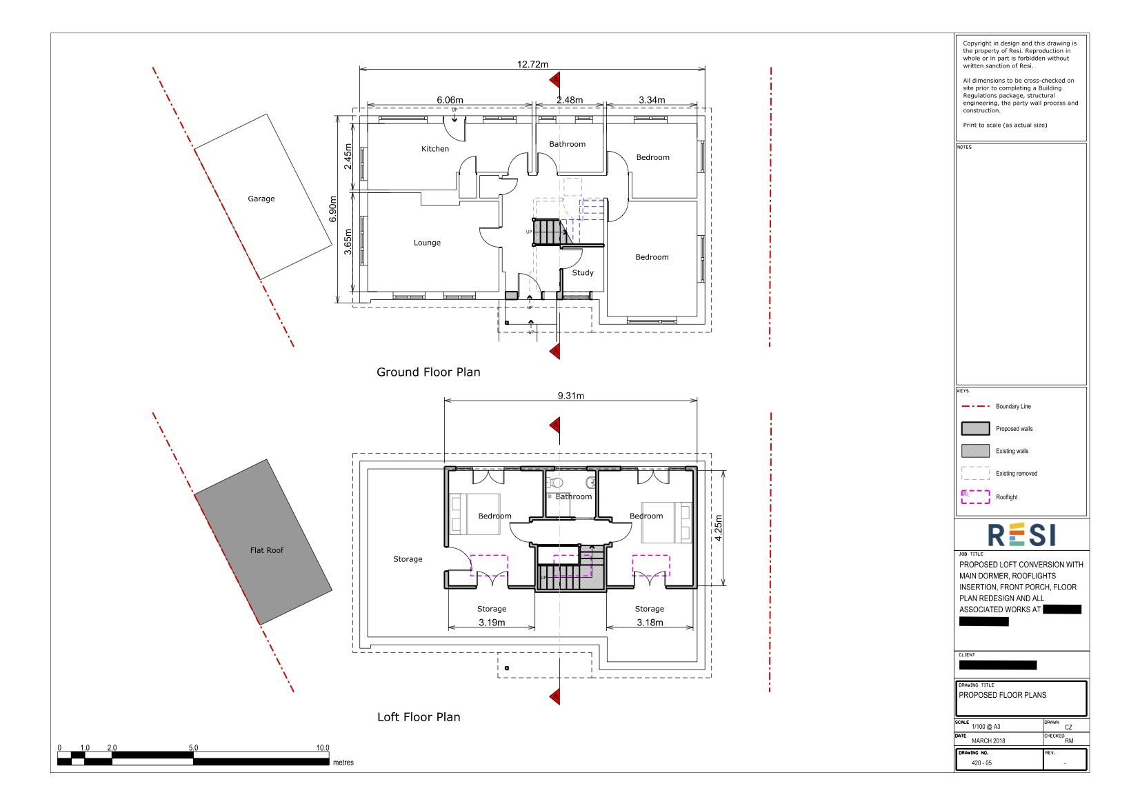 Architectural drawings   floor plans