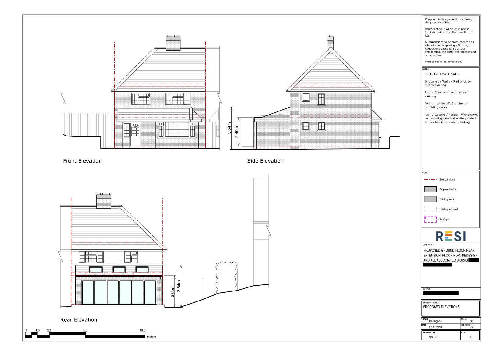 Architectural drawings rev a 10   elevations