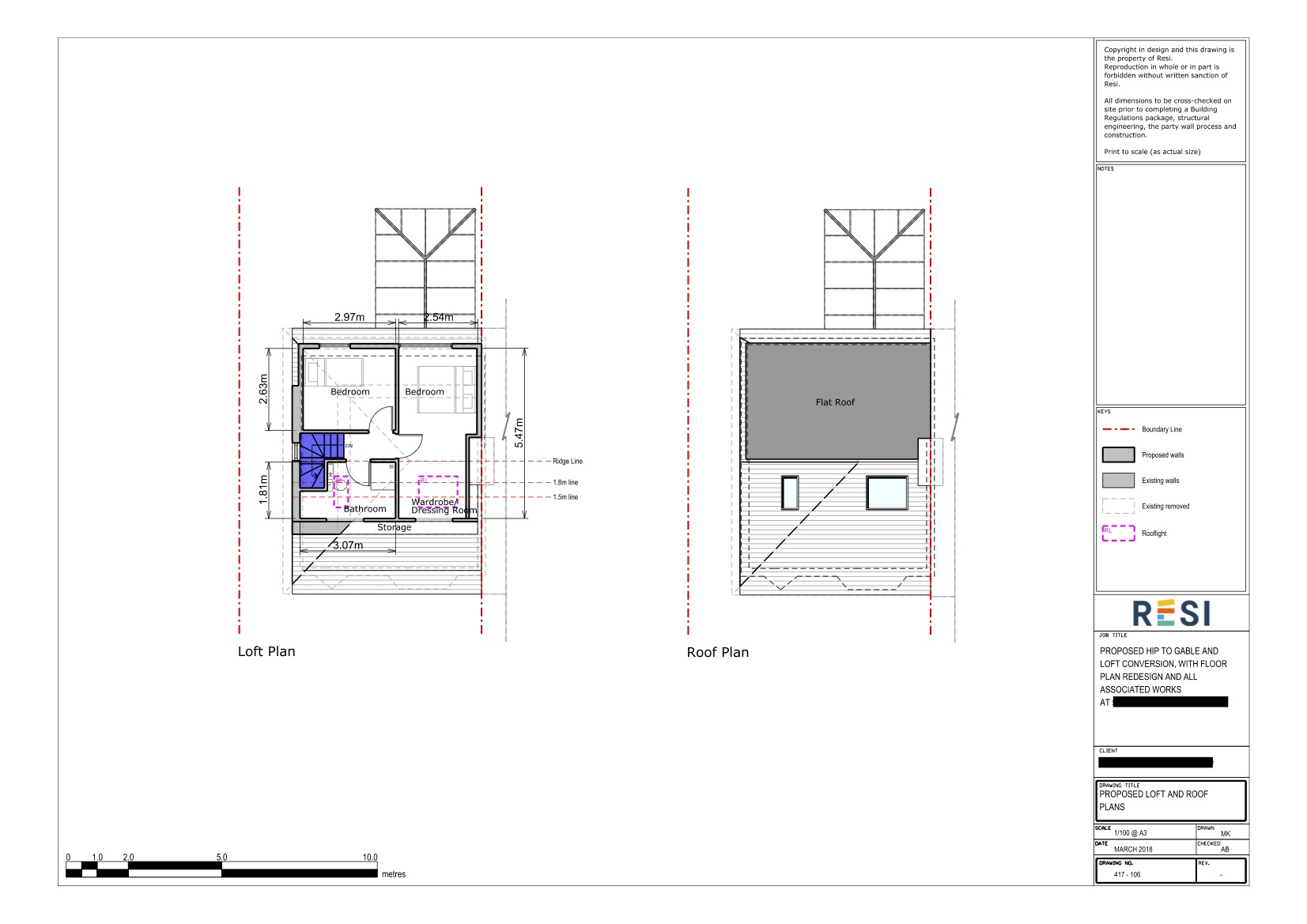 Architectural drawings set lc   loft floor plans