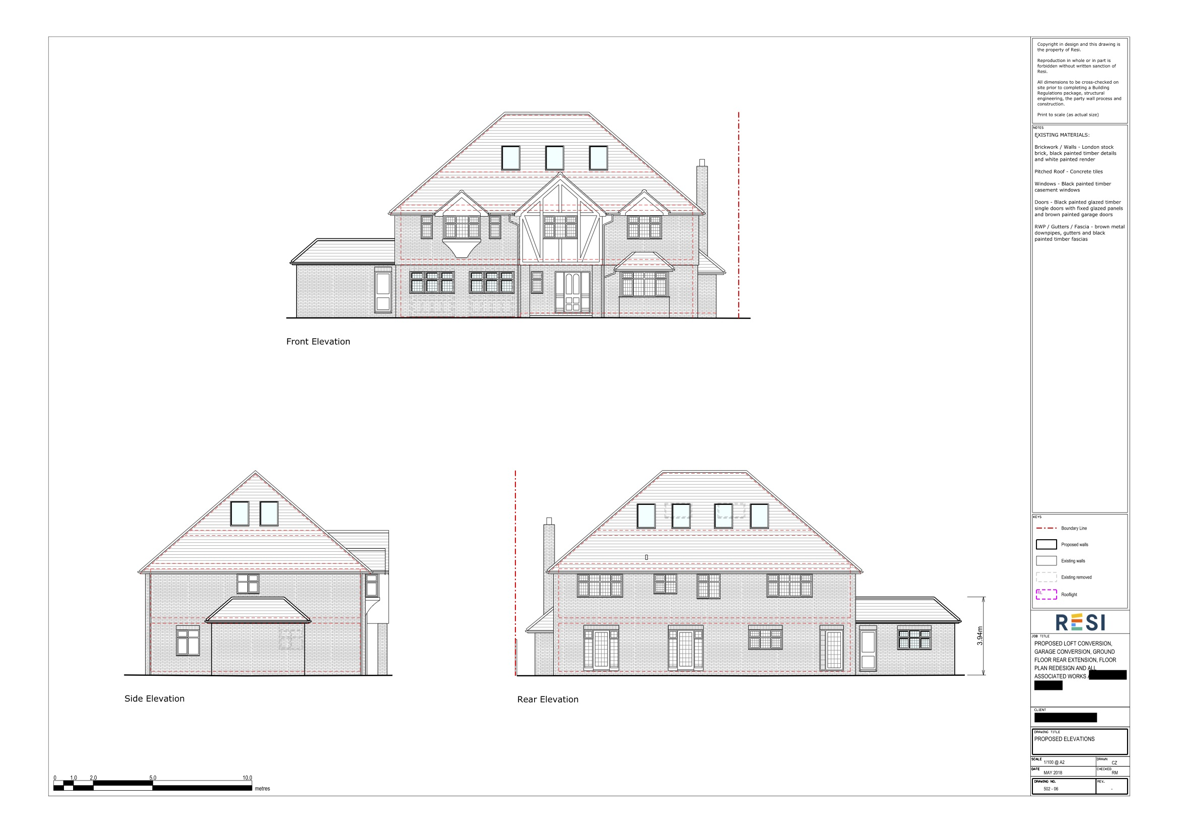 Architectural drawing package 2   elevations