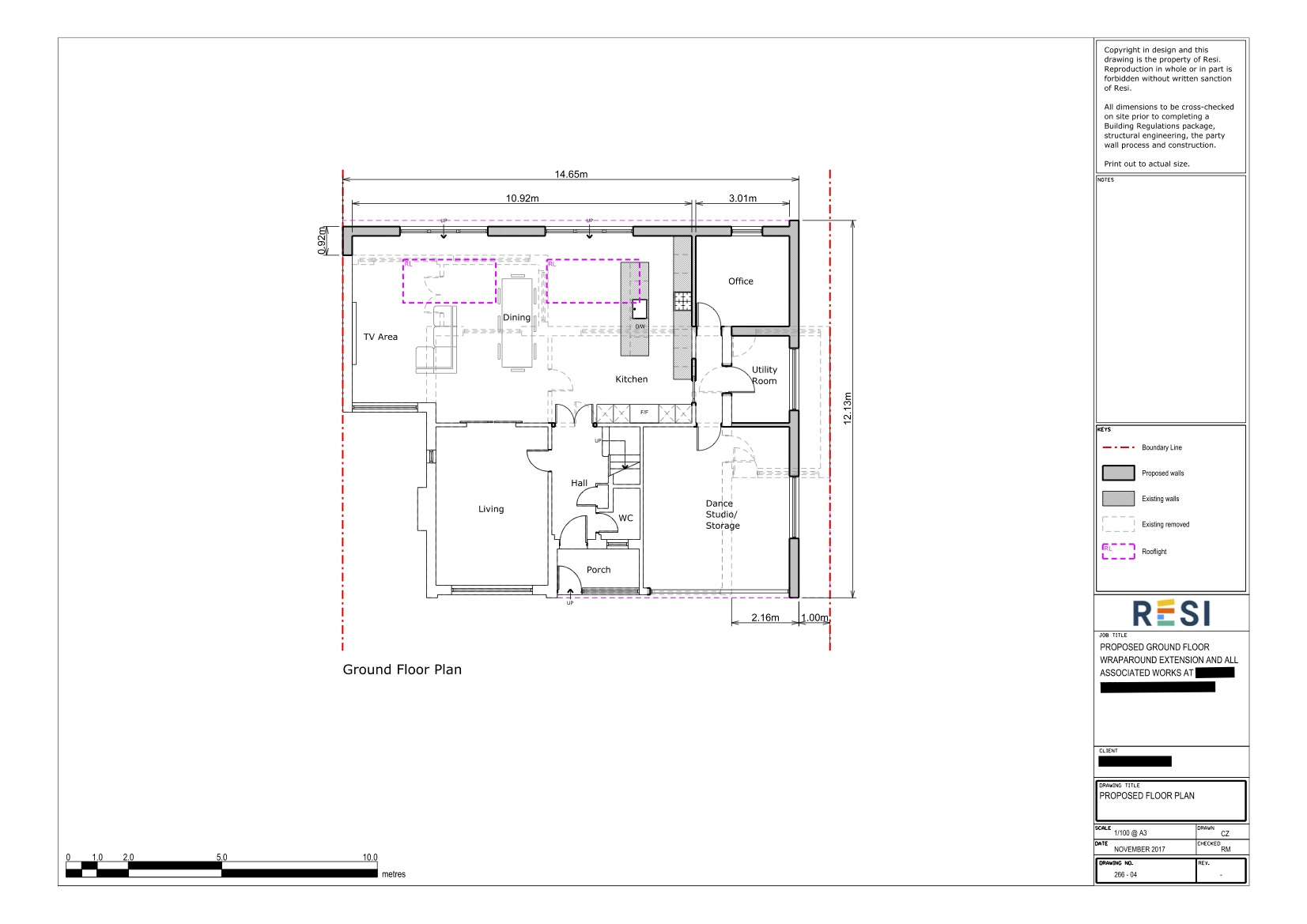 Architectural drawings 14   ground floor plan