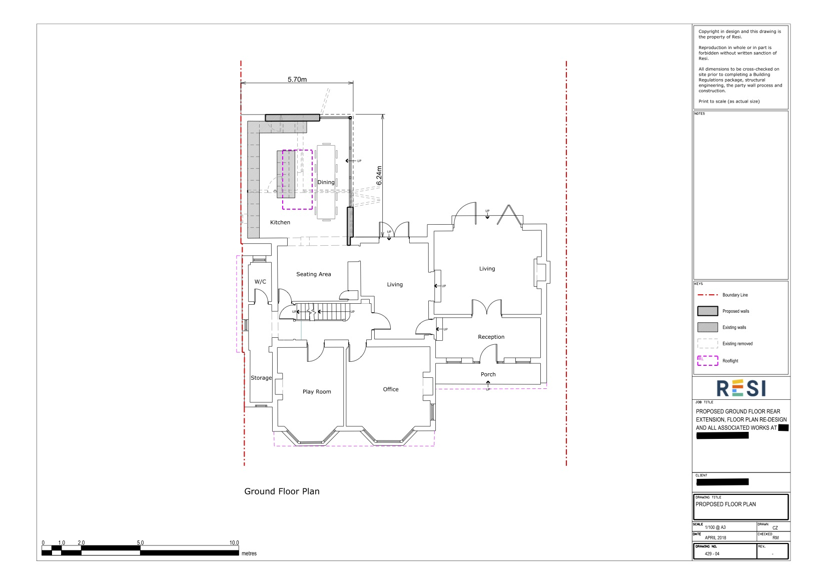 Architectural drawings 3   floor plan