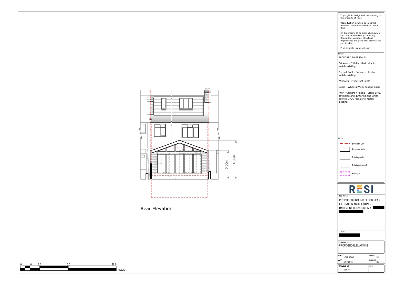 Architectural drawings 24   elevations
