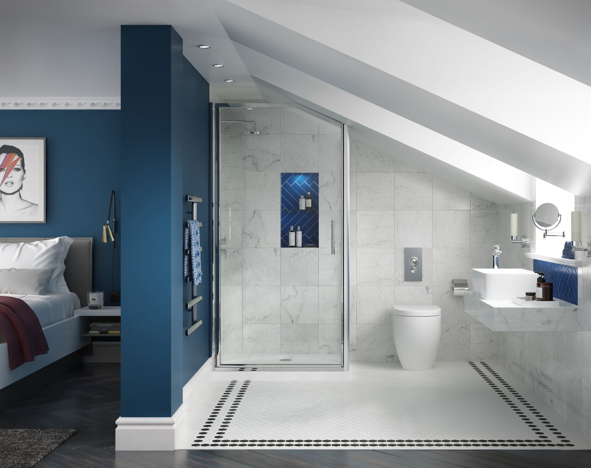 Loft Bathroom Ideas That Utilise E