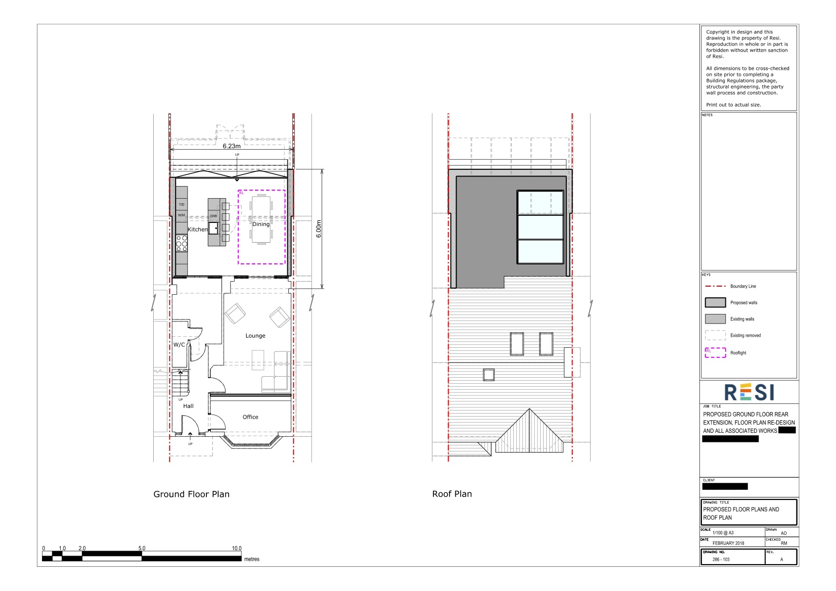 Architectural drawings    ground floor plans