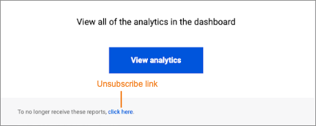Use the unsubscribe link in the DDoS report to stop receiving emails.