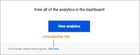 Utilisez le lien de désabonnement dans le rapport DDoS pour ne plus recevoir d'e-mails.