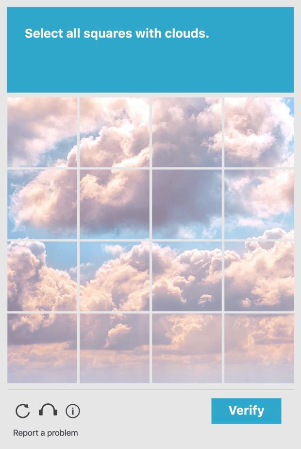 Bild reCAPTCHA