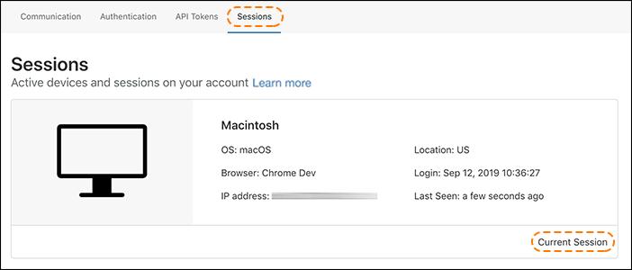 URL antigo: https://support.cloudflare.com/hc/article_attachments/360038654971/session_listing_session_tab.png ID do artigo: 360033455752 | Como visualizar e revogar sessões ativas do painel de controle da Cloudflare