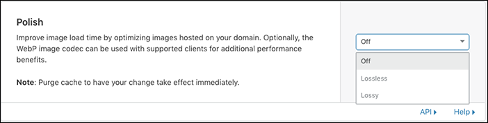Old URL: https://support.cloudflare.com/hc/article_attachments/360038879252/cms_wordpress_polish.png Article IDs: 228503147 | Speed Up WordPress and Improve Performance