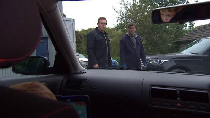 Sean kidnaps Moses - Emmerdale - ITV
