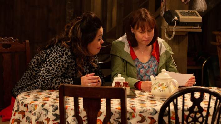 Mandy and Lydia - Emmerdale - ITV