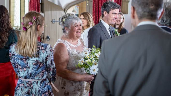 Zak and Lisa's wedding - Emmerdale - ITV