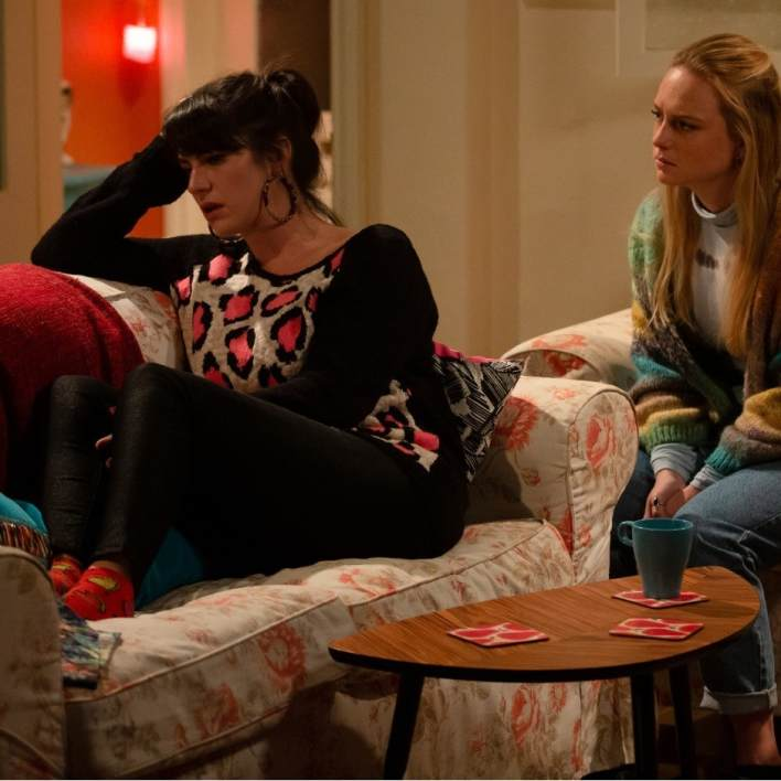 Kerry and Amy - Emmerdale - ITV