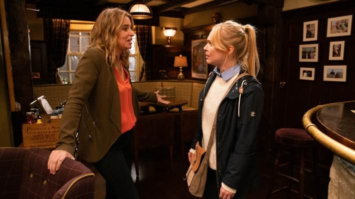 Charity and Vanessa - Emmerdale - ITV