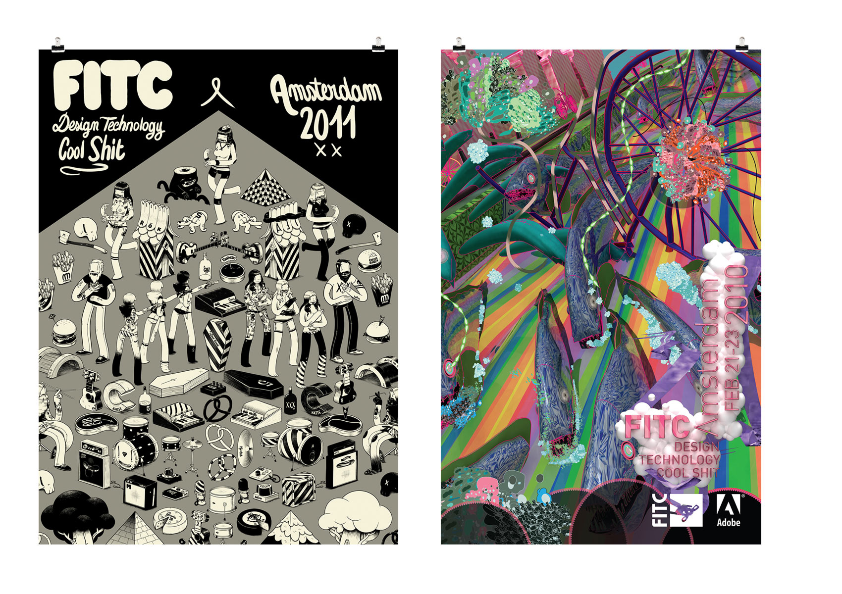FITC posters 2011-2010