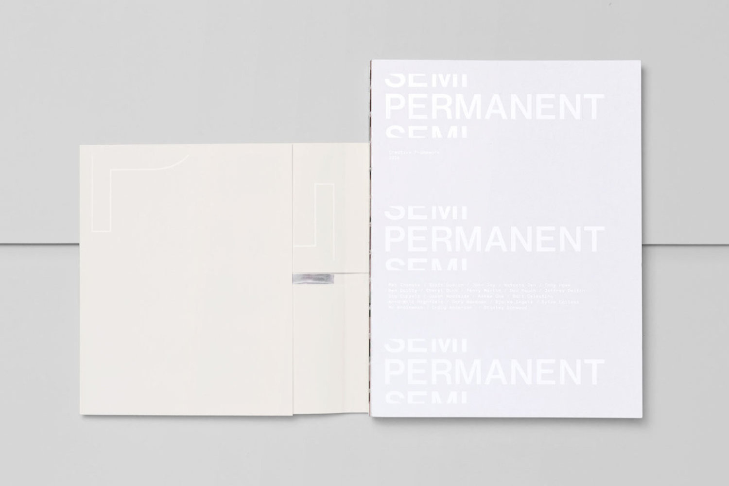 SemiPermanent 2016 Book