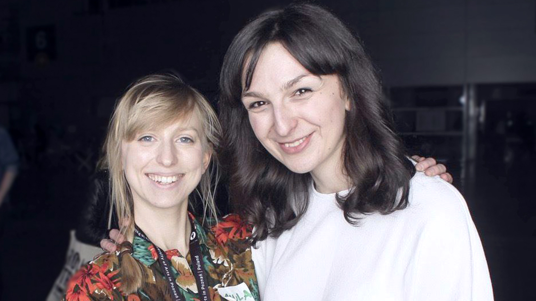 Paula Kacprzak (left) and Olga Rafalska
