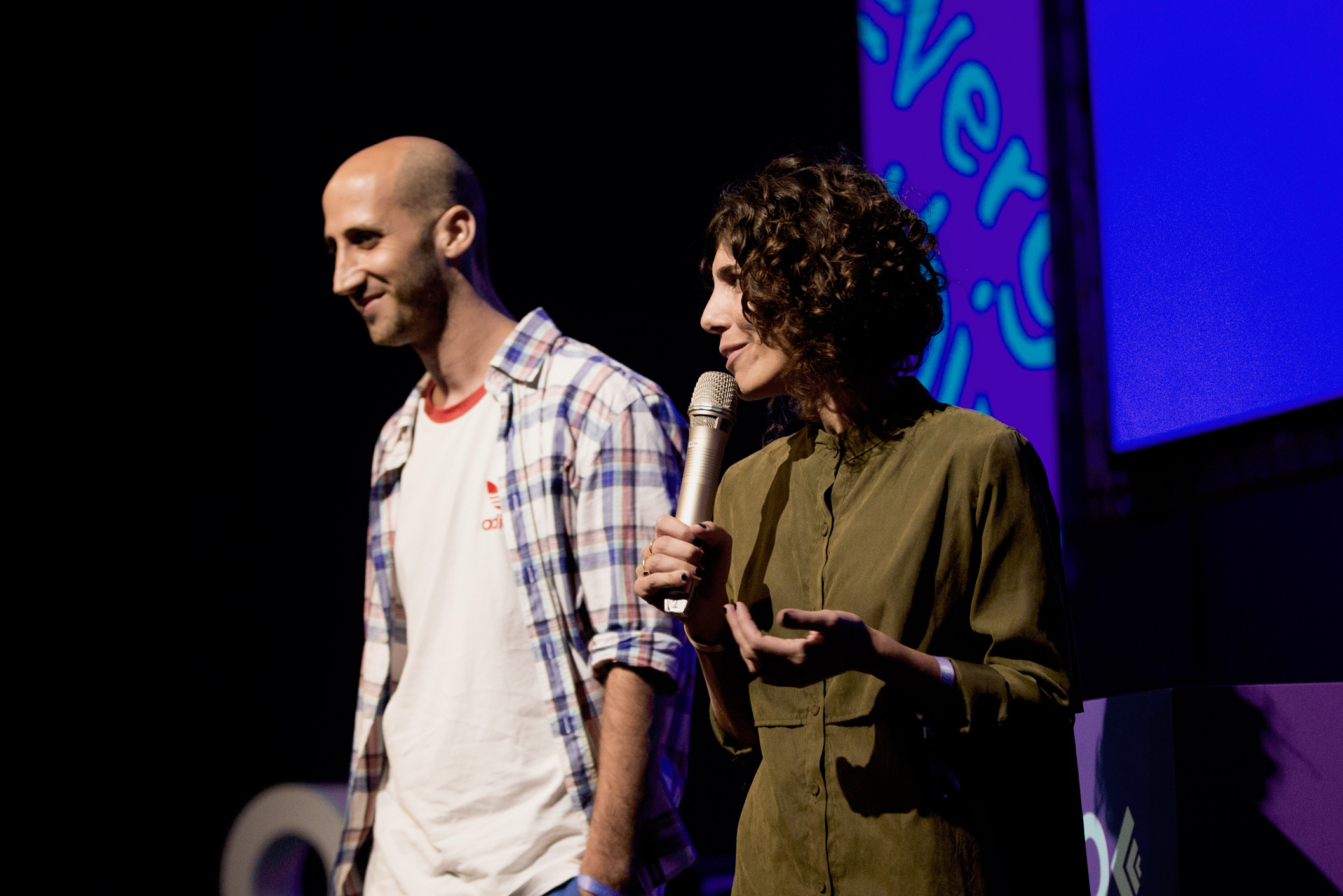OFFF TLV co-founders Nitsan Rozenberg and Liri Argov