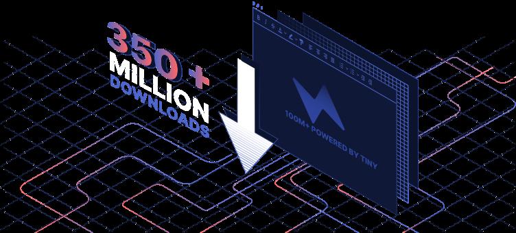 350Million+ Downloads