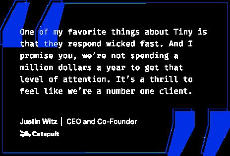 Justin Witz Customer Quote