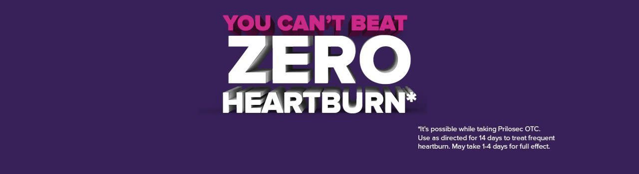 Heartburn Relief from Frequent Heartburn! | Prilosec OTC