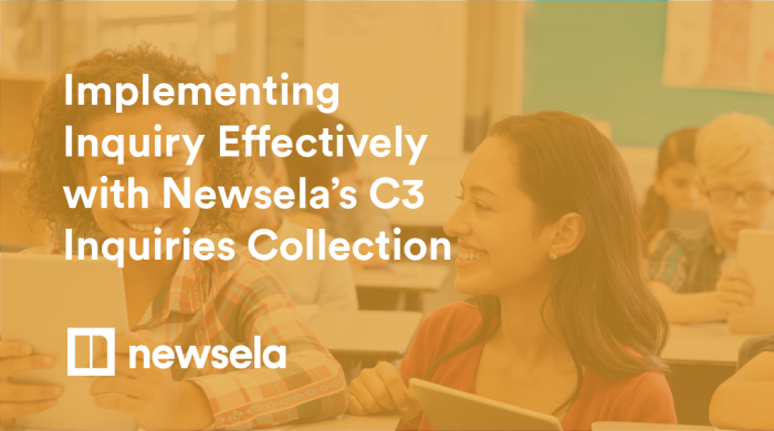 Search Newsela Social Studies to create a C3 based collection hero