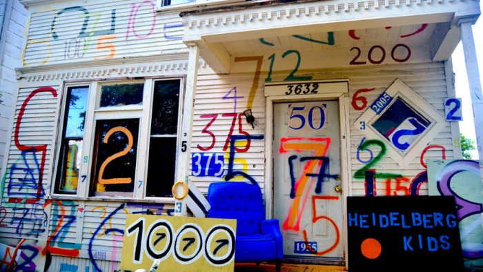 Detroit's Heidelberg Project: Empty street, blank canvas
